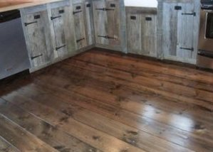 Using Wide Softwood Planks for Cottage Flooring