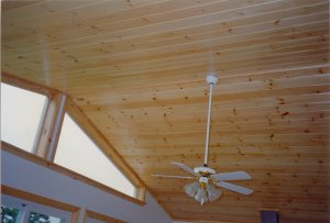 Using Wide Softwood Planks for Ceilings Ceilings
